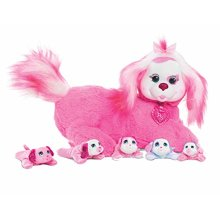Puppy Surprise 42000 Polly Plush Toy, 12, Pink