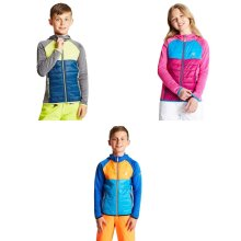 Dare2b Childrens/Kids Infamy Hybrid Insulated Hooded Stretch Midlayer