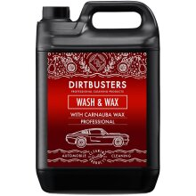 Wash and wax professional car cleaner with carnauba wax 5 litres....