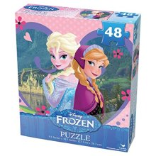 Frozen 48 Pc Promo Basic Puzzles Styles May Vary