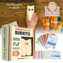 Throw Throw Burrito A Dodge Ball Card Game Original Edition Party Game