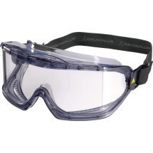 Delta Plus GALERAS Polycarbonate Safety Goggles (Clear or Smoke)