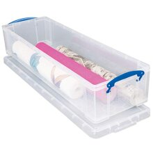 Really Useful Storage Box 22 Litre Clear