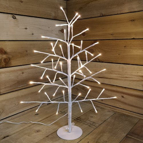 Snowtime Indoor Outdoor 60cm Angel Tree With 51 Warm White LEDs