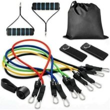 11pc Ultimate Resistance Bands Set - 100lbs
