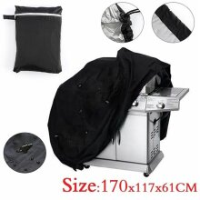 170cm Fitted Heavy Duty BBQ Grill Barbecue Cover Outdoor Rain / Dust Proof UK