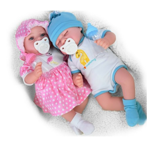 "The Magic Toy Shop 17"" Lifelike Realistic Reborn Handmade Baby Dolls"