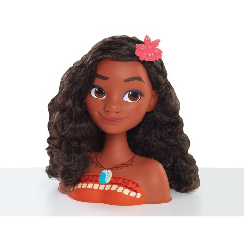 Disney Moana Styling Head 14 PCs With 13 Styling Hair Accessories Ages 3 Years+