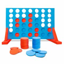 Jumbo-Sized Family Garden Outdoor Summer Game 4 in a Row