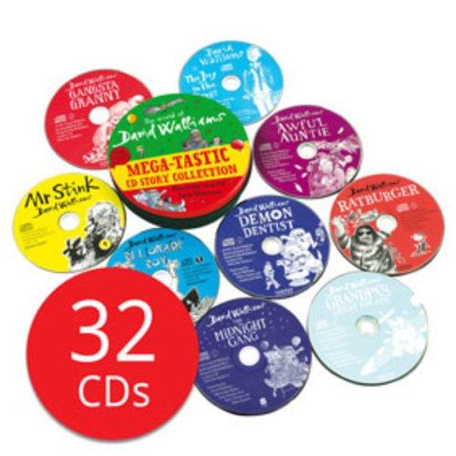 David Walliams Mega-tastic CD Story Collection - 32 CDs