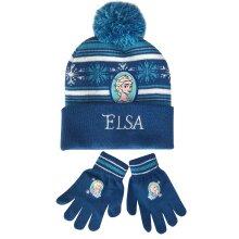 Disney Frozen Hat & Gloves Set
