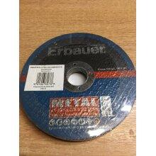 ERBAUER METAL CUTTING DISC 125 2.5 X 22 BORE PACK OF 5