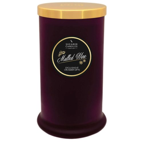 Shearer Candles Exclusive Pillar Jar Candle - Mulled Wine