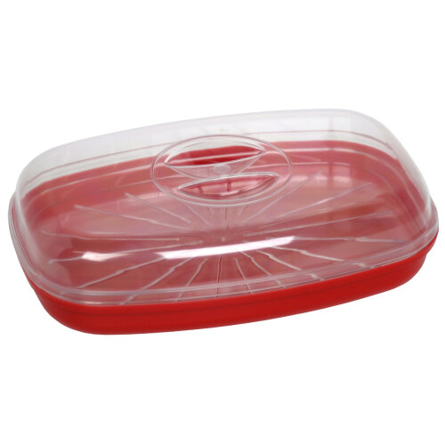 Easy Cook Fish Poacher/ Steamer, Red