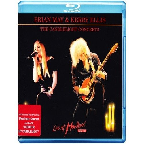 Brian May and Kerry Ellis the Candlelight Concerts Live at Montreux 2013 [blu Ray   Cd] [blu-ray] [2014]