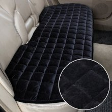 Car Breathable Rear Back Seat Cover Protector Mat Chair Cushion Black