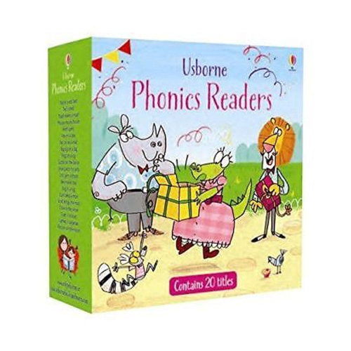 Phonics Readers Collection 20 Books Set Young Reader Series Read