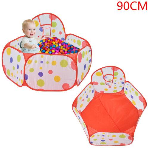 0.9M Folding Kids Baby Toy Ball Pool Game Play