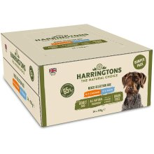 HARRINGTONS Natural Wet Dog Food Bumper Pack 150 g Per Pouch Pack of 24