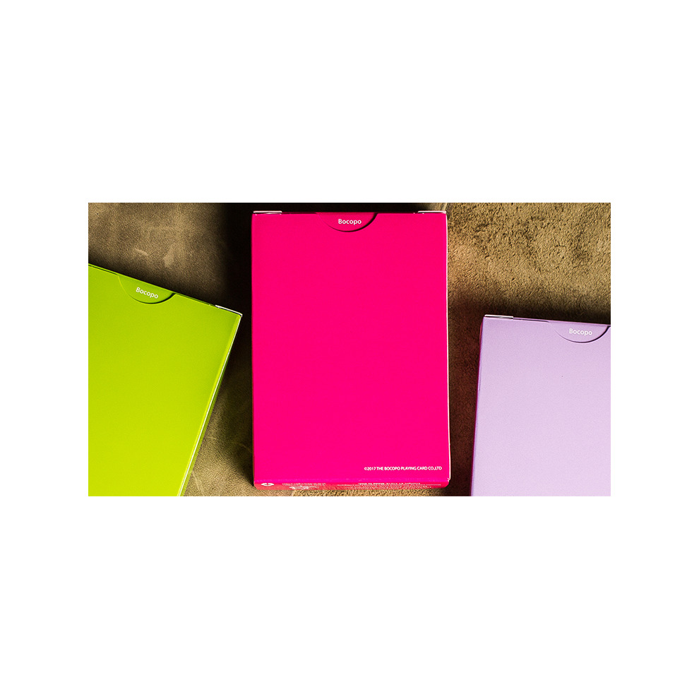 Pink by Bocopo Steel Playing Cards