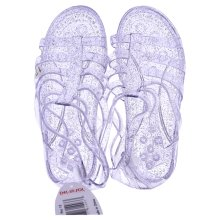 DelSol Gladiator Girl Jellies Sandal - 12 Purple - 1 Pair Sandals
