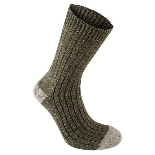 (6-8 UK, Dark Moss Marl) Craghoppers Mens Glencoe Walking Socks