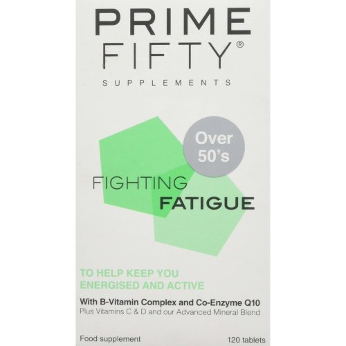 PRIME FIFTY Fighting Fatigue Tablets, 120-Count
