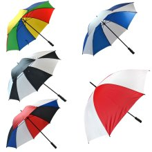 Unisex Large Golf Umbrella Windproof Canopy Rain Sun Strong Wind Shield Brolly