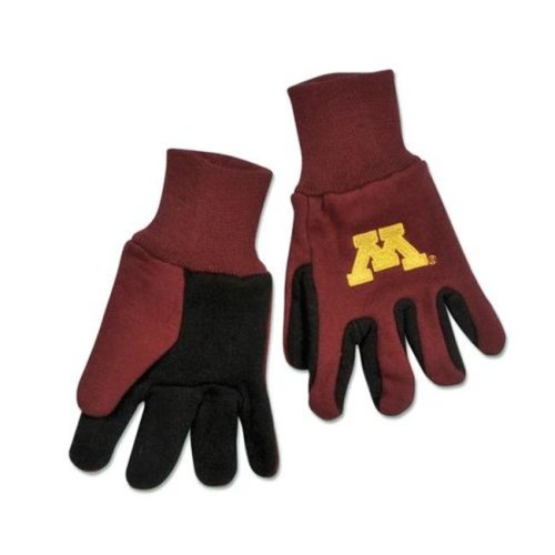 Minnesota Golden Gophers Youth Size Two Tone Gloves