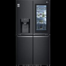 LG InstaView Door-in-Door GMX945MC9F Wifi Connected American Fridge Freezer - Black