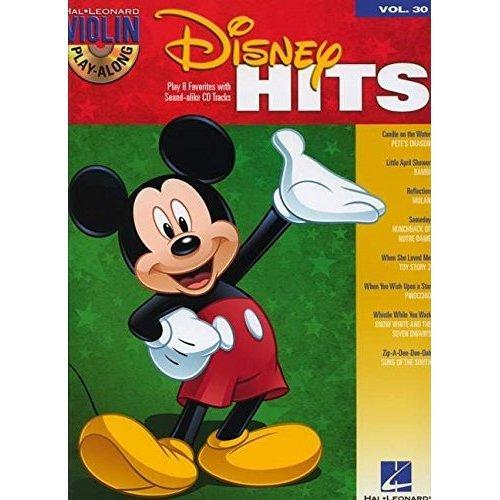 Violin Play-Along Volume 30: Disney Hits (Hal Leonard Violin Play Along)