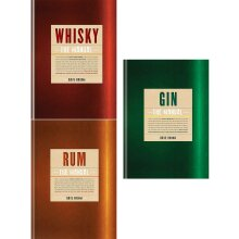 Whisky, rum, gin the manual dave broom 3 Books Collection Set