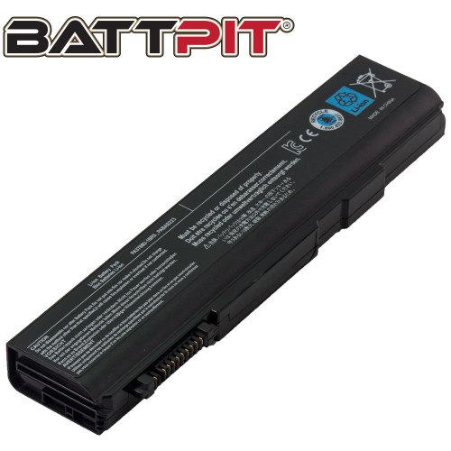 BattPit Battery for Toshiba PA3786U-1BRS PA3787U-1BRS PA3788U-1BRS PABAS221 PABAS222 PABAS223 Tecra A11 M11 S11 A11-S3512 M11-S3450 [6-Cell/48Wh]