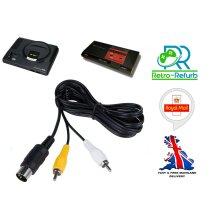 Sega Mega Drive 1 TV AV Cable Video Audio Lead MegaDrive Master System
