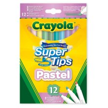 12 Bright Supertips Pastel Edition