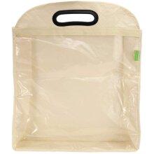 Zyyini Transparent Dust Bag, Clear Purse Organizer,Dustproof Handbag Holder with Wardrobe Hook (L)