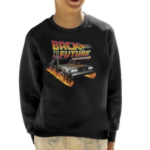 DeLorean Count Down Back To The Future Kid's Sweatshirt