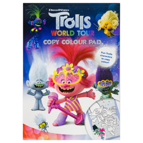 Trolls 2 Copy Colour Pad