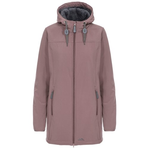 (M, Dusty Heather) Trespass Womens/Ladies Kristen Longer Length Hooded Waterproof Jacket