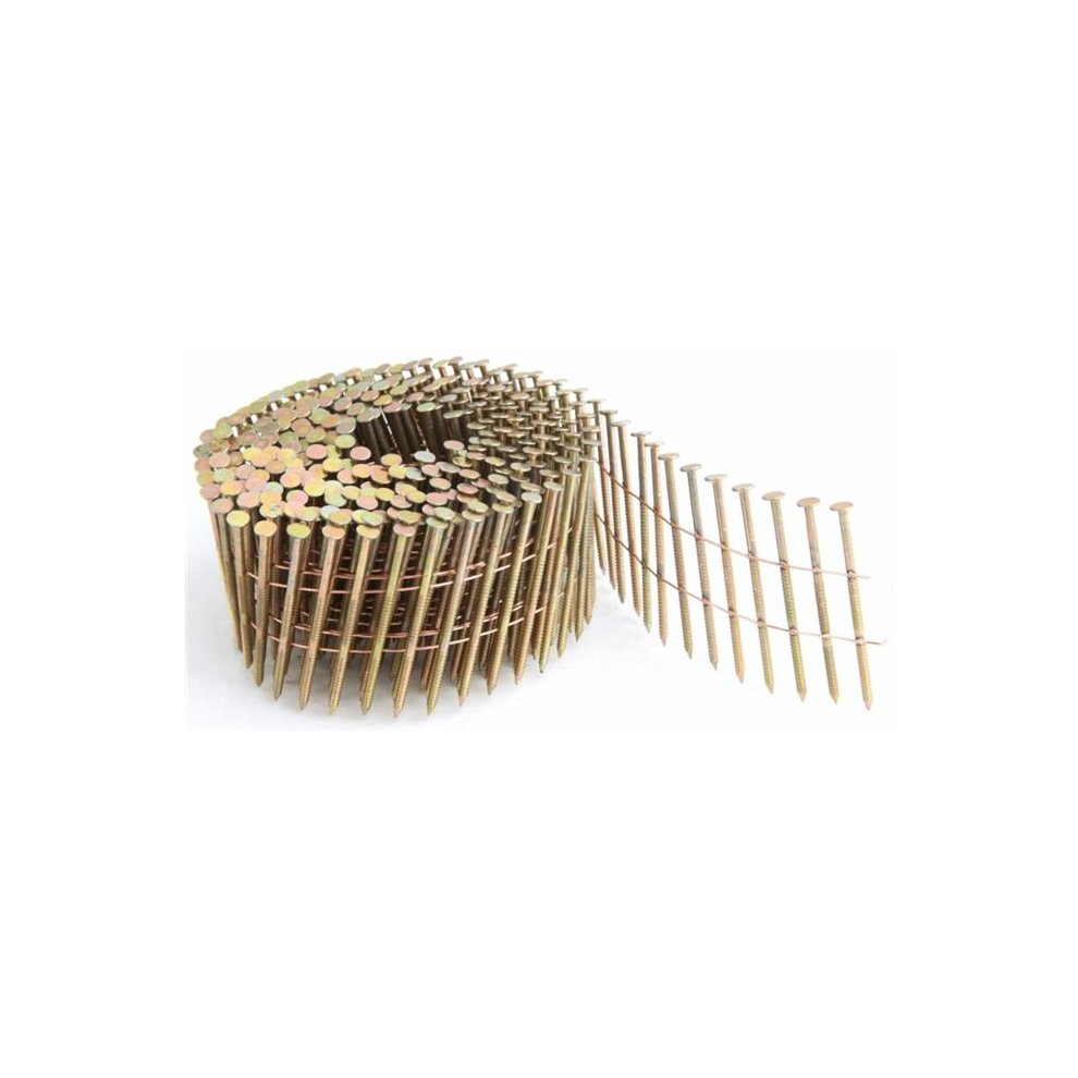 Freeman SNRSG92-25WC .92 in Ring... Coil Siding Nail 2 .5 in Wire Collated