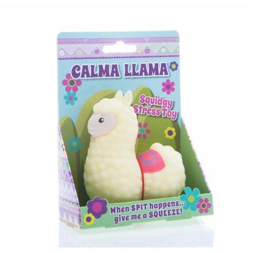 Boxer Gifts BB2202 Stress Toy-Calma Llama, Cream