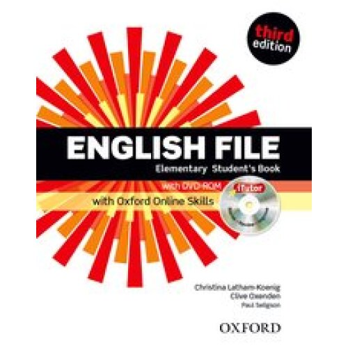 English File 3rd Ed: Elementary Student's Book with iTutor and Online