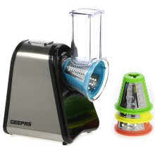 Geepas 200W 4 in 1 Electric Salad Maker | Electric Multi Grater Slicer