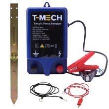 T-Mech Electric 12V Fence Energiser Water Resistant Fencer