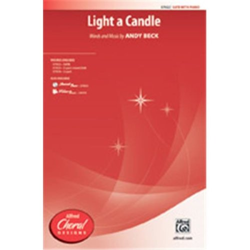 Alfred 00-37925 LIGHT A CANDLE-STRX CD