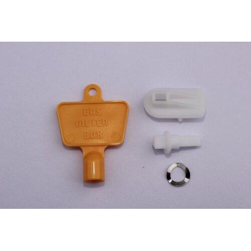 Meter Box Repair Kit - Latch and key