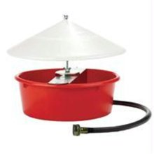Miller Mfg Co Inc Little Giant Automatic Poultry Waterer- Red 5 Quart - 166386