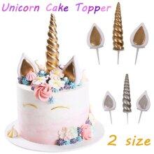 Unicorn Cake Decoration Rainbow Unicorn Cake Topper