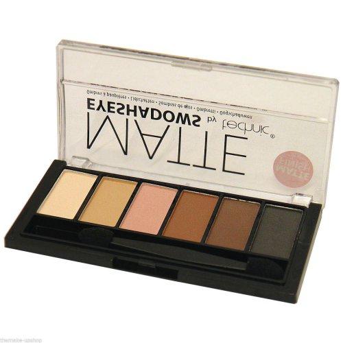 Technic Six Colour Matte Eyeshadow Palette Nude