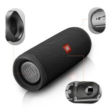 JBL Flip 5 Portable Speaker with Rechargeable Battery Bluetooth Black